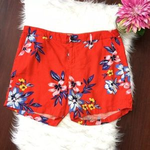 4 for $25 Old navy linen blend floral shorts 14